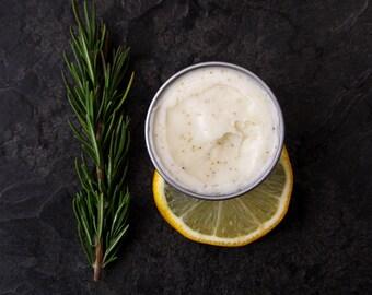 Organic Body Whip - Rosemary Lemonade - Raw Body Butter