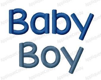 Baby Boy Embroidery Design 3x3 4x4 5x7 INSTANT DOWNLOAD