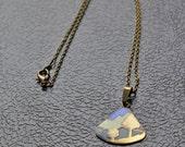 Triangle Necklace \\ Landscape Tree