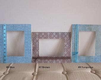 8x10 Mattes for Frame with 5x7 opening, Ornate Mattes, Decorative Mattes, 2 pk Embellished Matte Set