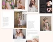 Boudoir Photography Digital Magazine - INSTANT DOWNLOAD - Sweet Pink