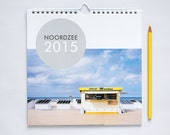 "2015 wall calendar ""Noordzee"", pictures from the North Sea."
