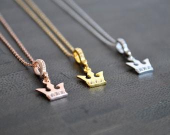 3 COLOR CROWN NECKLACES Choose your color!