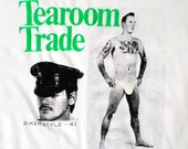 Tearoom Trade T-shirt - Cruise or Be Cruised - Cruising - Public Sex - Laud Humphreys