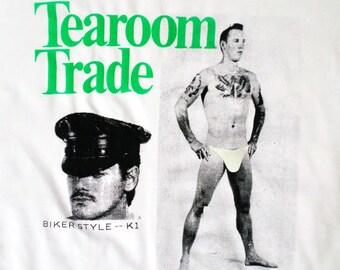 Tearoom Trade T-shirt - Cruise or Be Cruised - Cruising - Public Sex - Laud Humphreys
