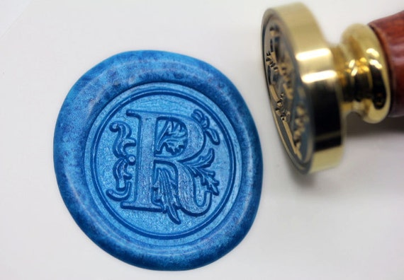 S1160 Alphabet Letter R Wax Seal Stamp Sealing