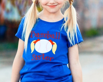 Baseball Sister Youth Tee - Child's T-Shirt - District Concert Tee