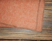 SaLE!!! Coral Puddle Pad, Changing Mat, Crib Mat Pure Wool Alternative to Plastic