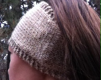 Multi Brown Ear Warmer