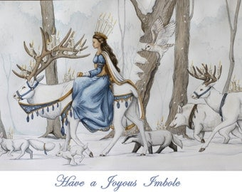 Imbolc Greeting Cards- Set of 10