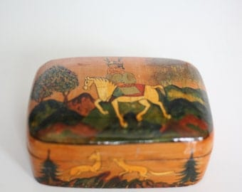 Hand made box by Ali Brothers Hassanabad in Kashmir (india)