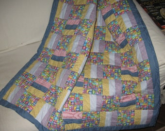Girl's Crib Quilt  on SALE NOW!
