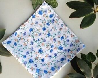 London Lawn Floral Handkerchief