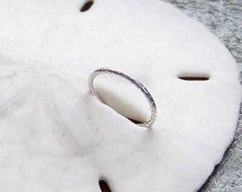 Endless Hoop - Sterling Silver 18 Gauge 6mm 8mm 10mm 12mm - Choose Size - Nose Ring - Septum Ring - Nose Hoop - Septum Hoop - Made to Order