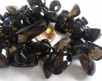 Smokey Funky Cut Faceted