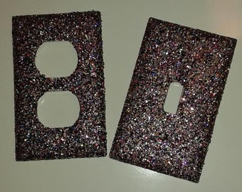 Glitter Switch Plate & Outlet Cover Set