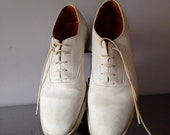Men's Vintage1930's / 40's White Shoes