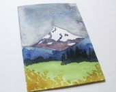 Original ACEO - Mount Hood