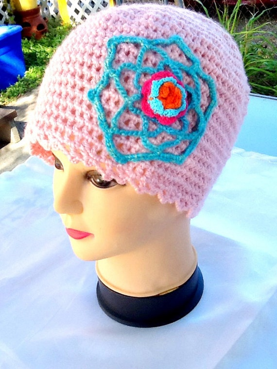 Hat Ladies Teen Pink And 62