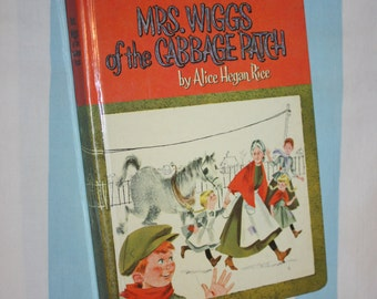 Mrs. Wiggs of the Cabbage Patch, 1962 Whitman Book