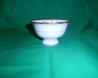 One (1), Bone China, Open Sugar Bowl, from Royal Albert in the Anemone Pattern.