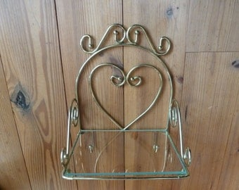Vintage Heart Shelf