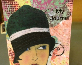 Flapper Girl Mini Journal