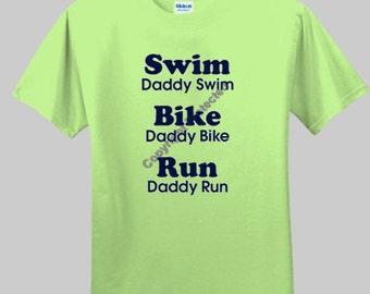 Triathlon Daddy Triathlon T-shirt