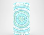Carousel mobile phone case  iPhone 7 iPhone 7 Plus iPhone SE iPhone 6S iPhone 6 iPhone 5S iPhone 5 illustrated pastel blue case
