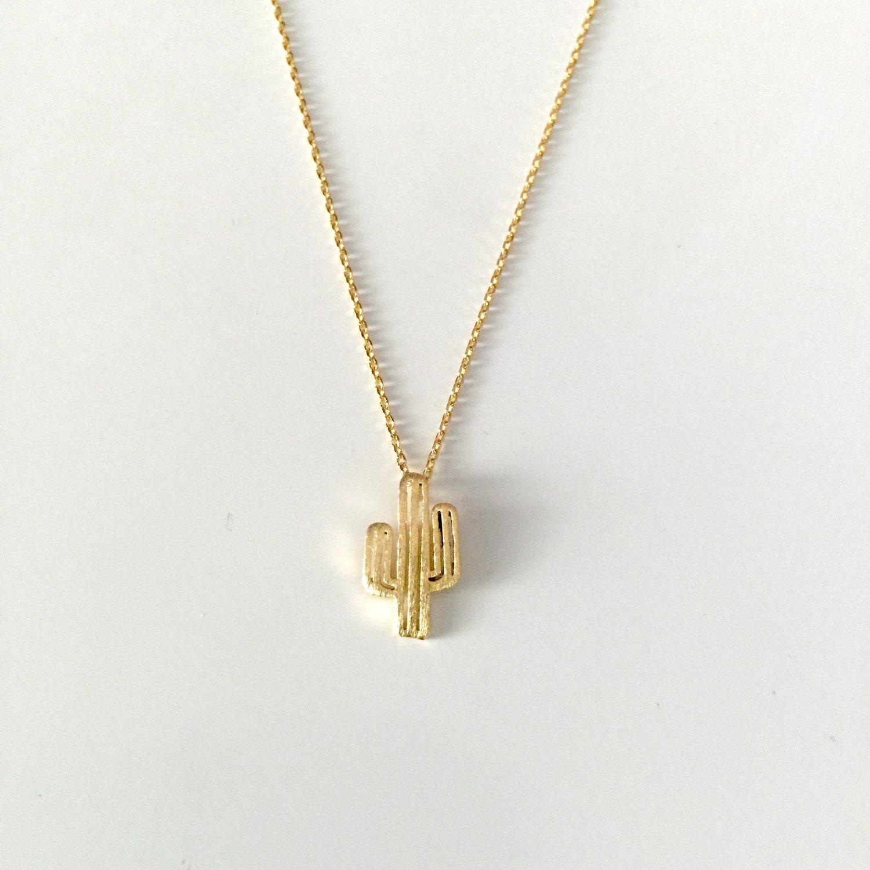 flash sale succulent cactus necklace cactus charm necklace