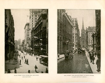 Photographic Collection, New York's Most Beautiful Views, From Original Plates, Antique c.1883 Softcover Book