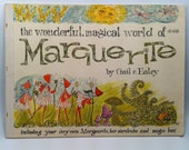 The Wonderful, Magical World of Marguerite by Gail E. Haley Vintage Children's Book 1964 Sayre Ross w/ Paper Dolls