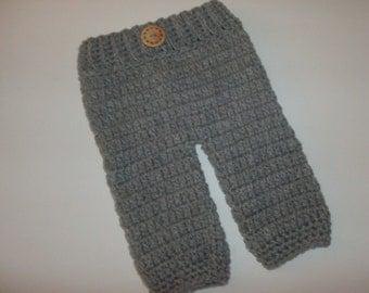 SALE Baby Diaper Cover Baby Pants , Boy Pants,Girl Pants,Crochet Baby Pants, Newborn Photo Prop ,Made To Order
