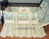 Baby Crib Bedding Set custom Modern designer authentic Modpeapod
