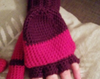 Pattern: Cozy fingerless gloves with mitten covering