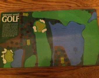 Vintage 1966 Thinking Man's GOLF Game by 3M COMPLETE in Excellent used condition
