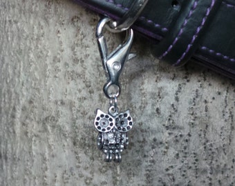 Cute Owl Dog Collar Charms