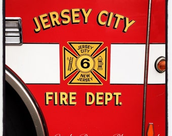 Jersey City - Fire Department Coaster
