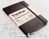 The Best Travel Journal (new) - Travel Planner & Diary, Travel Gift