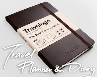 The Best Travel Journal (new) - Travel Planner & Diary, Travel Gift