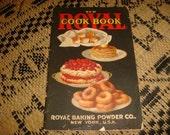 Vintage 1920 New ROYAL Cook Book Royal Baking Powder Co. recipes Art Graphics