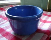 Vintage oxford ware bowl 4x3 inch bowl kitchen decor collectible blue bowl serving stoneware bowl dining replacement bowl