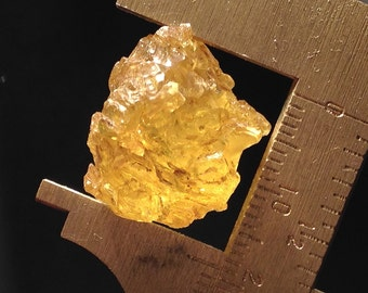 Sulfur Crystal from Russia no.06