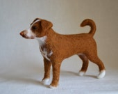 Felt dog, portrait similarity of your pet.... I will make this item for your order
