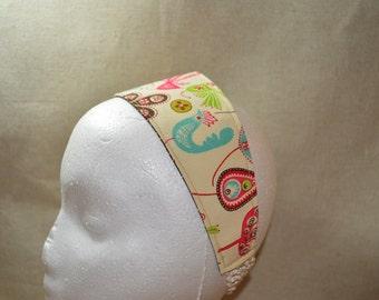 Fun Bird and Floral Headband