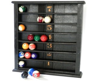 Antique Pool Ball Rack from Billiards Room Pool Hall