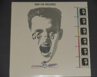 """Mike and The Mechanics with """"All I Need Is a Miracle"""" - Pop Rock - Atlantic Records 1985 - Vintage Vinyl LP Record Album"""