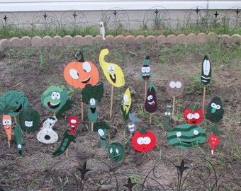 Vegetable Garden Markers, Labels, Stakes