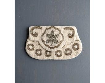 vintage bead purse