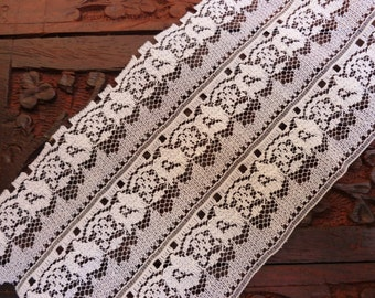 Lace Blow Out Sale 10 Yards Wide Creamy White Lace